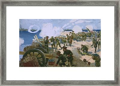 Rebellion In Venice Framed Print by Italian School