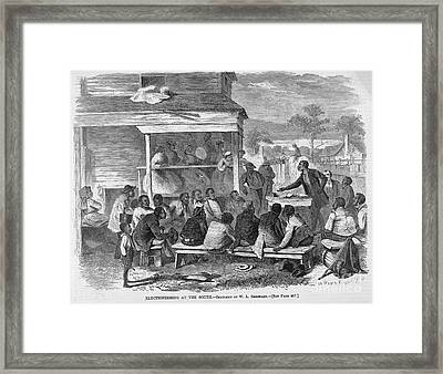 Reconstruction Framed Print by Granger