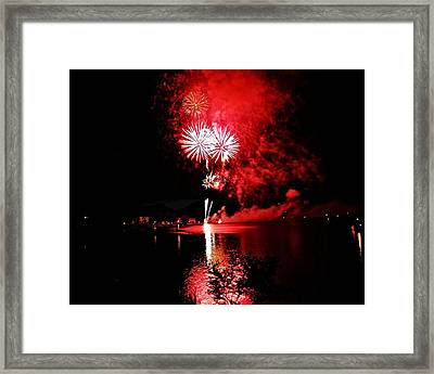 Red Alien Framed Print by Don Mann