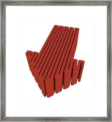 Red Arrow Framed Print by Igor Kislev