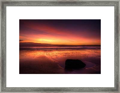 Red Morning Framed Print by Svetlana Sewell