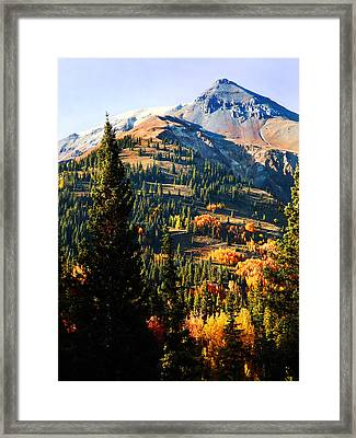 Red Mountain Project Framed Print by Terril Heilman
