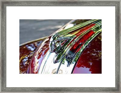 Red Pontiac  Framed Print by Cathie Tyler