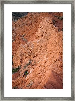 Red Rocks Framed Print by Konstantin Dikovsky