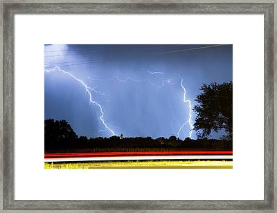 Red White And Blue Framed Print by James BO  Insogna