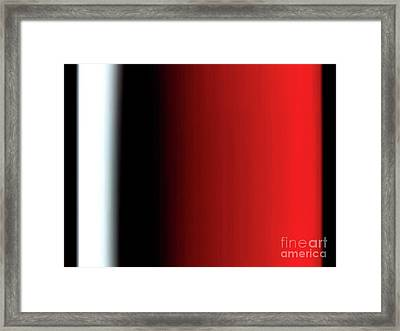 Red Wine Framed Print by Pet Serrano