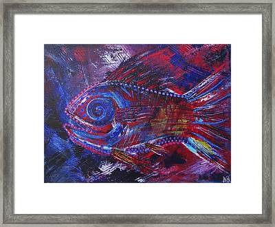 Redribfish Framed Print by Jeremy Smith