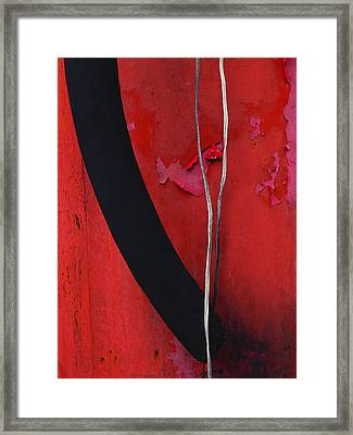 Redrum Framed Print by Skip Hunt