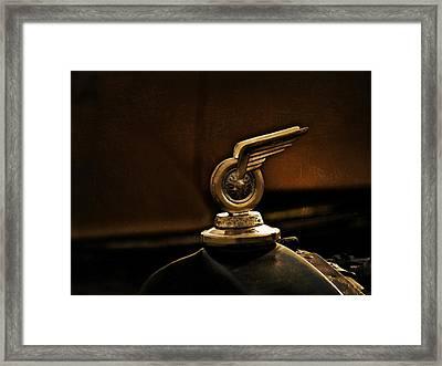 Redwing Mascot Framed Print by Douglas Pittman