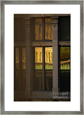 Reflected Framed Print by Aimelle