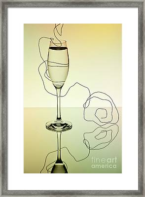 Reflection 01 Framed Print by Nailia Schwarz
