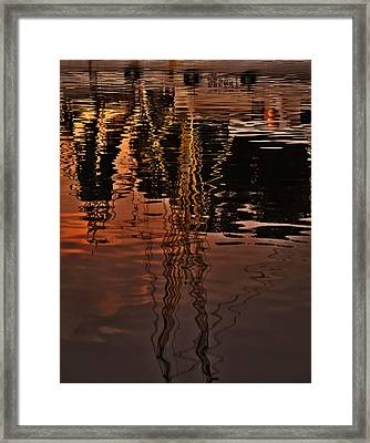 Reflection Framed Print by Mario Celzner