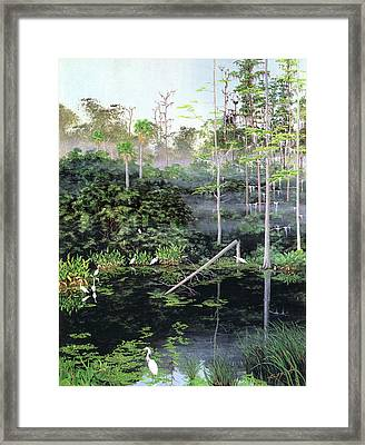 Reflections 1 Framed Print by Kevin Brant