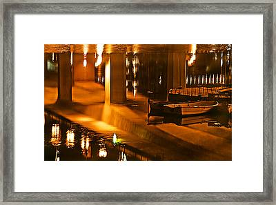 Reflections Framed Print by Adam Rozsa