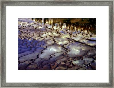 Reflections Framed Print by Ellen Heaverlo