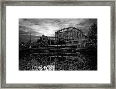 Reflections Of The Mega Zeph Framed Print by Pixel Perfect by Michael Moore