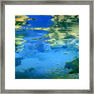 Reflections On Rome Framed Print by Roberto Alamino