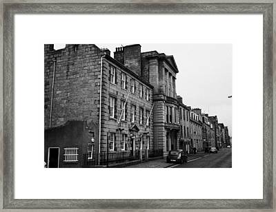 Regent Quay Aberdeen Scotland Uk Framed Print by Joe Fox