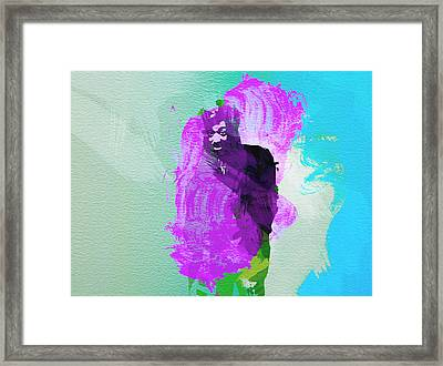 Reggae Kings 2 Framed Print by Naxart Studio