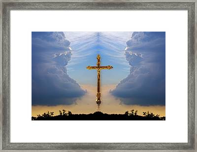 Religious Image Framed Print by Richard Wear