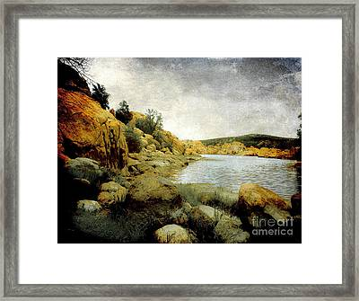 Rembrandt Colors Framed Print by Arne Hansen