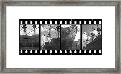 Remember This Boat Framed Print by Manuela Constantin