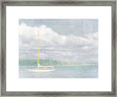 Remembering Ethereal Days Framed Print by Cheryl Butler