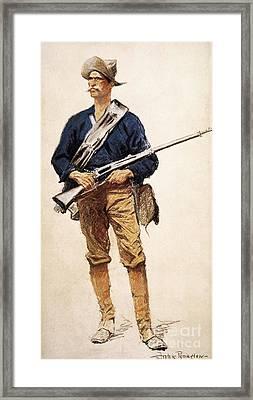 Remington: Soldier, 1901 Framed Print by Granger