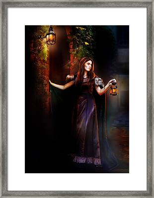 Rendevouz Framed Print by Mary Hood