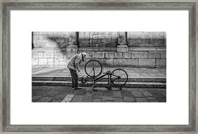 Repairs Framed Print by Michael Avory