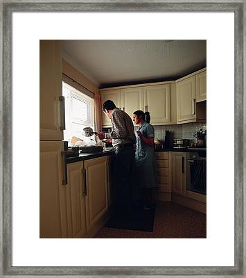 Residential Geriatric Care Framed Print by