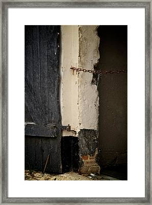 Restricted Framed Print by Odd Jeppesen