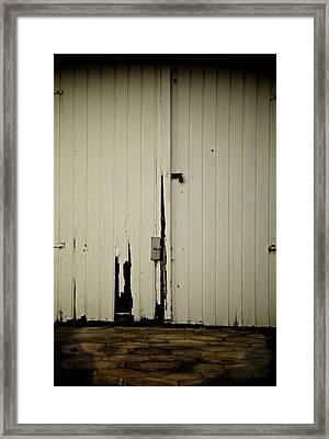 Restricted Parking Framed Print by Odd Jeppesen
