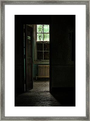 Resuscitator Room Framed Print by Gary Heller