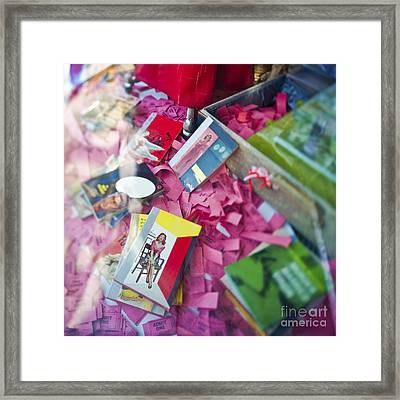 Retail Display Framed Print by Eddy Joaquim