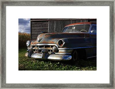 Retired Framed Print by Lyle Hatch
