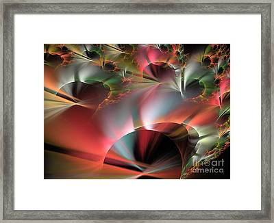 Retrograde Framed Print by Kim Sy Ok