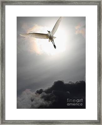 Return To Eternity . Vertical Cut Framed Print by Wingsdomain Art and Photography