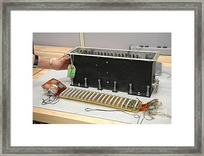 Return To Flight Sensor Tests Framed Print by NASA / Kennedy Space Center