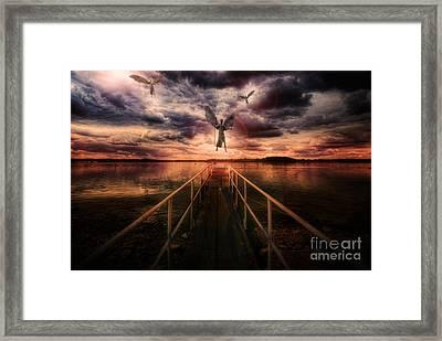 Revelation Framed Print by Yhun Suarez