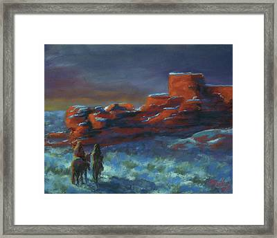 Revisiting Old Places Framed Print by Marcus Moller