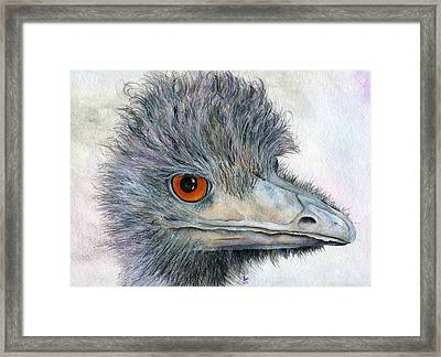 Rhea Framed Print by Brandy Fenenga