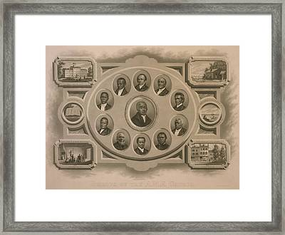 Richard Allen 1760-1831 And Other Framed Print by Everett