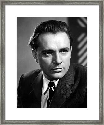 Richard Burton, 1950s Framed Print by Everett