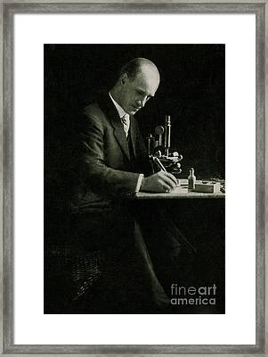 Richard C. Cabot, American Physician Framed Print by Science Source