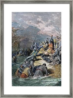 Richard The Lion-heart Framed Print by Granger