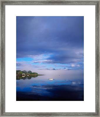 Ring Of Kerry, Dinish Island Kenmare Bay Framed Print by The Irish Image Collection