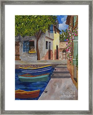 Rio De Lucia Framed Print by Kimberlee Weisker