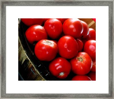 Ripe N Ready Framed Print by Michael Shreves