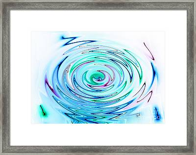 Ripple Framed Print by Glimpses Prasad Datar-Archana Padhye Photography